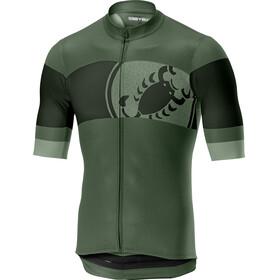 Castelli Ruota FZ Jersey Men sauge green